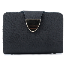 New Arrivals Brand Designer Businessmen Card Holders 2018 Hot Brand Bi-fold Unisex Credit Card Wallets With PVC Bank Best Price 2018 new shaggy deer brand luxury shiny golden quality falabellas 3 chain fold over classical pvc handbag