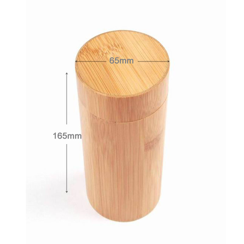 I Key Buy Brand New Natural Cylinder Bamboo Glasses Box Sunglasses Case