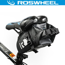 ROSWHEEL DRY Bike Bicycle Cycling Bags Panniers Full Waterproof PVC Bicycle Accessories Rear Tail Saddle Bags for MTB Road Bike