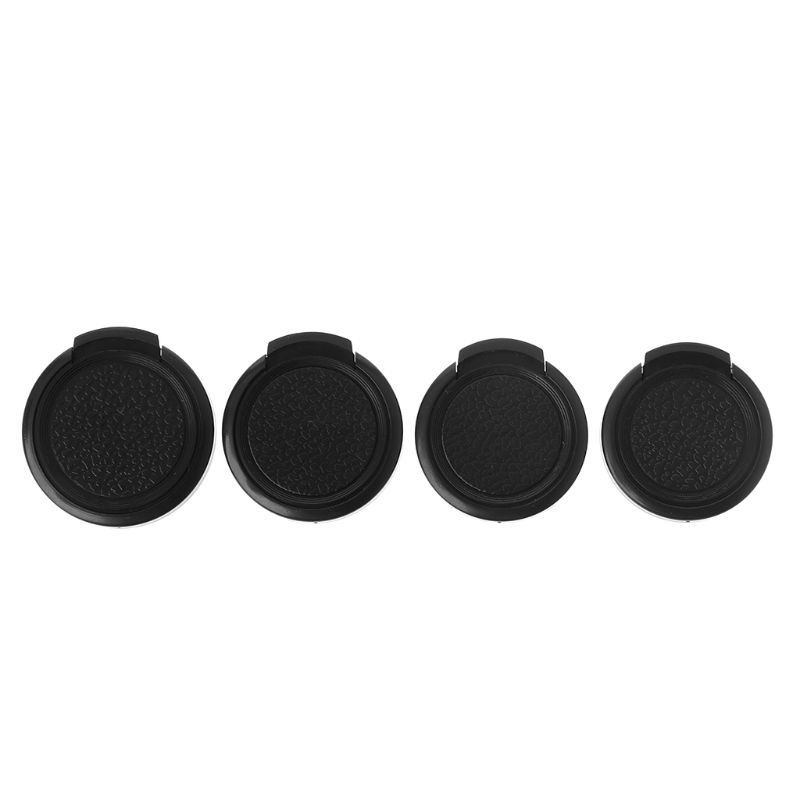 25MM/27MM/28MM/30MM/30.5MM/32MM/34MM Plastic Clip On Front Lens Cap SnapOn Lens Protective Cover For Canon Nikon Camera Filter