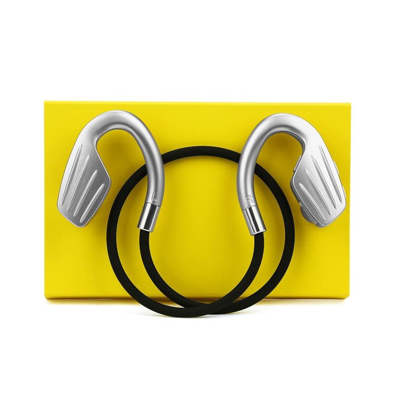 Original FineBlue M1 Bluetooth Headphone Sports Stereo Music Headset Ear Hook Wireless Headphones With Microphone Earphones original headphone bluedio t2 headphones version 4 1 wireless headset stereo earphones with microphone handsfree calls