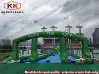 Amusement park wild splash city slip N slide water slide inflatables