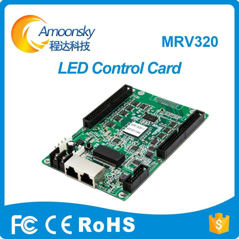 Nova MRV320 led screen outdoor indoor display receiver rental led screen board controller LED program driver board best choice все цены