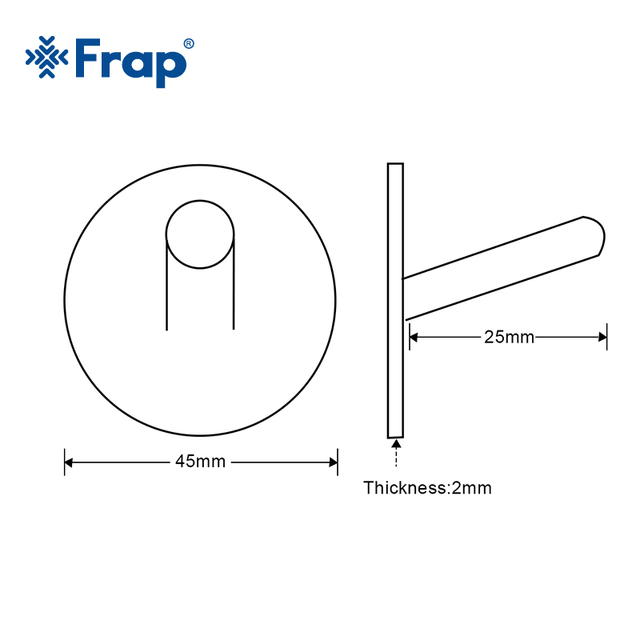 Frap 4Pcs Robe Hooks Black Stainless Steel Towel Hook Robe Hook Wall Hanger Bathroom Accessory Organizer Clothes Rack Y19005-1