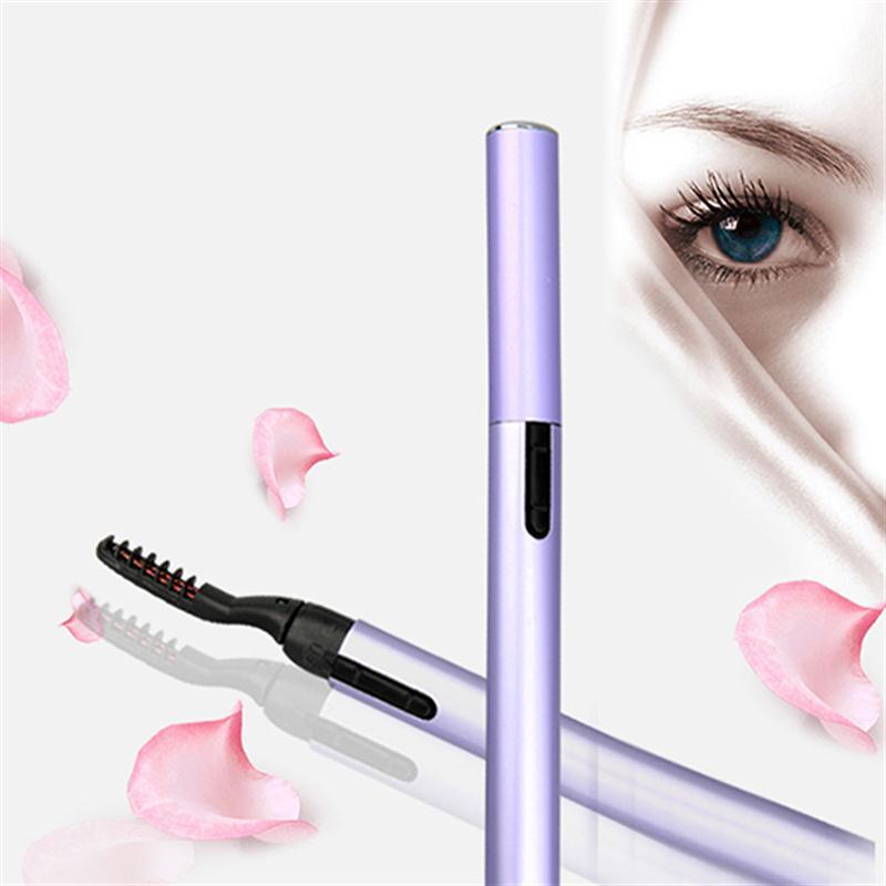 Ruimio Women Beauty Electric Heated Eyelash Curler Pen Makeup