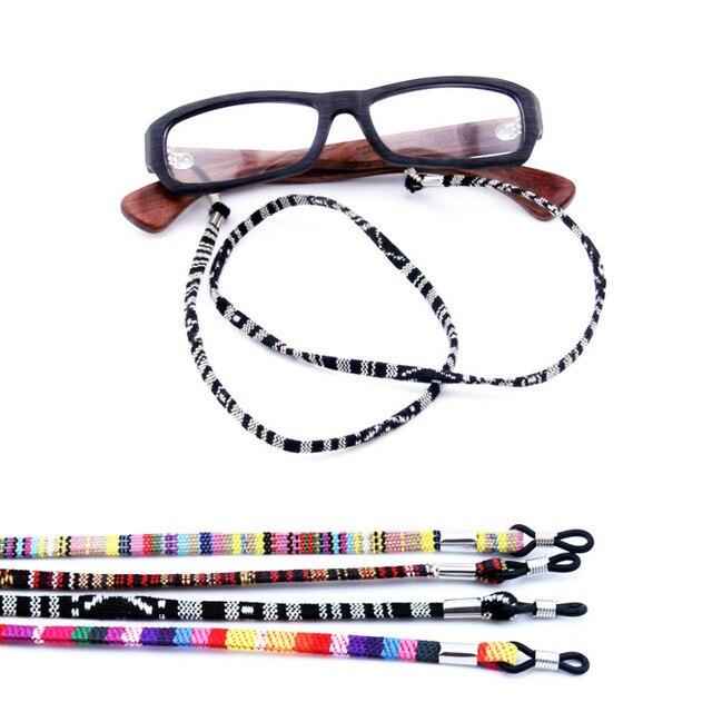 12pz Colorful nylon Eyeglass Holder Sunglass Eyewear Cord Neck string strap Reading Sunglass Eyewear fermo corda holder-assorted color gIu7mQvfjZ