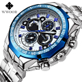 2016 Fashion WWOOR Mens Watches Top Brand Luxury Military Sport Watch Men Casual Quartz Watch Wrist Relogio Masculino 8013