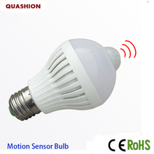 Smart PIR Motion Sensor Bulb E27 220V Led Lamp 5W 7W 9W LED Auto Infrared Body Sensor Lamp Home Lighting Garage Stairs