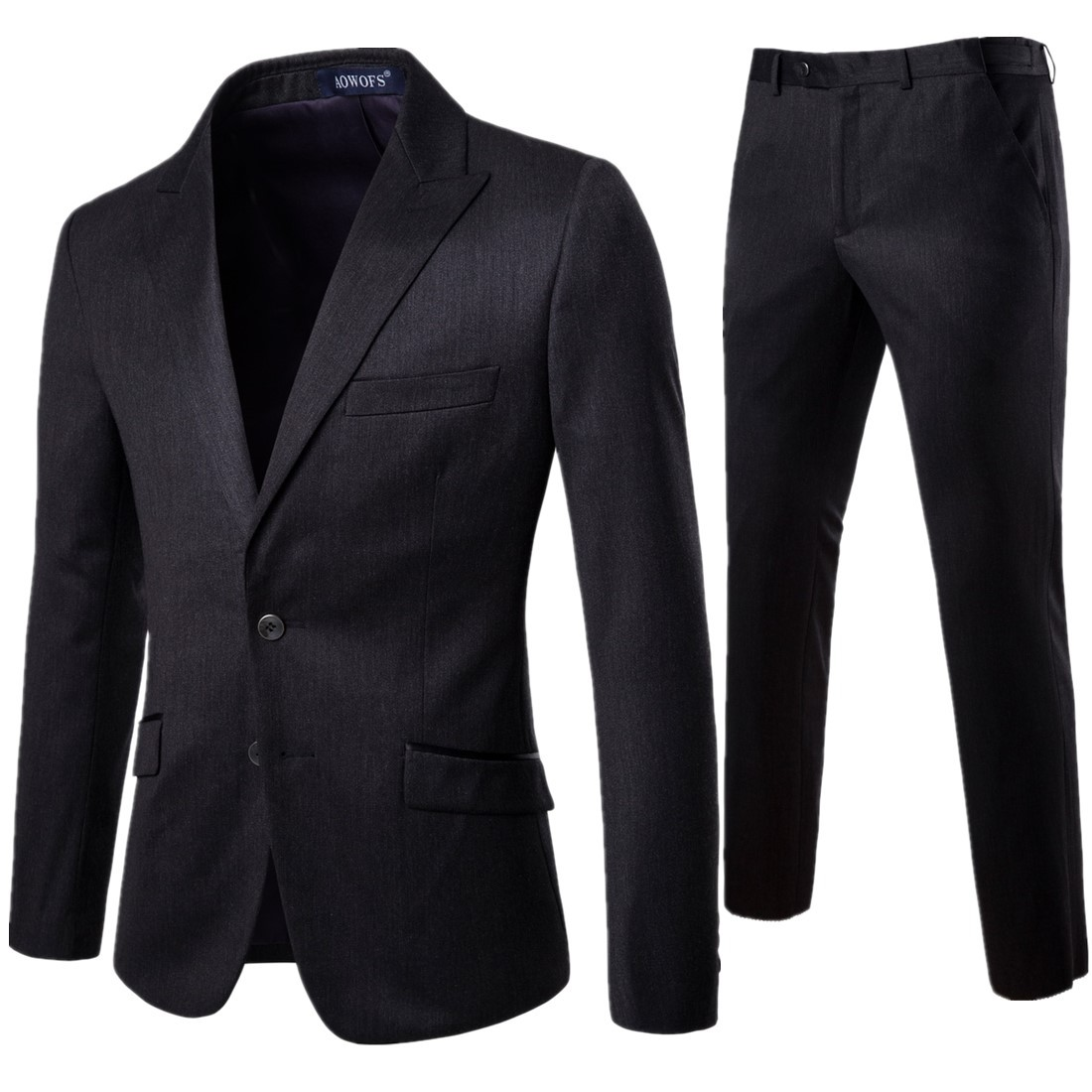 Men's Suit 2 Pieces Professional Business Suit Best Man And Groom's Wedding Dress Mens Blazer