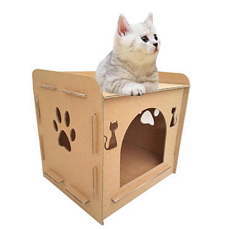 3 в 1 Применение кошки альпинистские мебели Cat Ho Применение Когтеточка для прыжков кошек Игрушка с лестницы для котят Pet Ho Применение игрушки Pet Товары для кошек