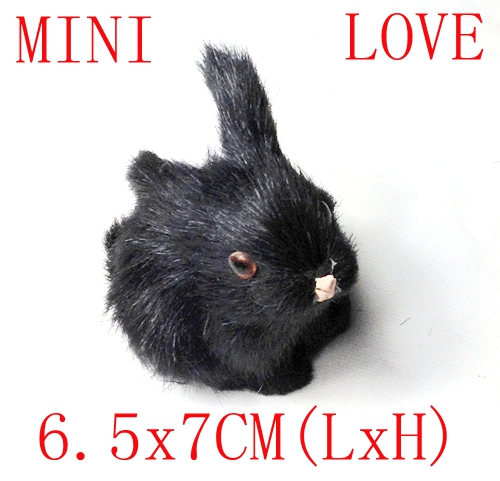 Free shipping black bunny rabbit for easter gift decoration in free shipping black bunny rabbit for easter gift decoration negle Images