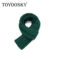 TOYOOSKY 2017 New Winter Scarf Woman Scarf Knitted Pure Cashmere Scarves Thickened Twist Scarf