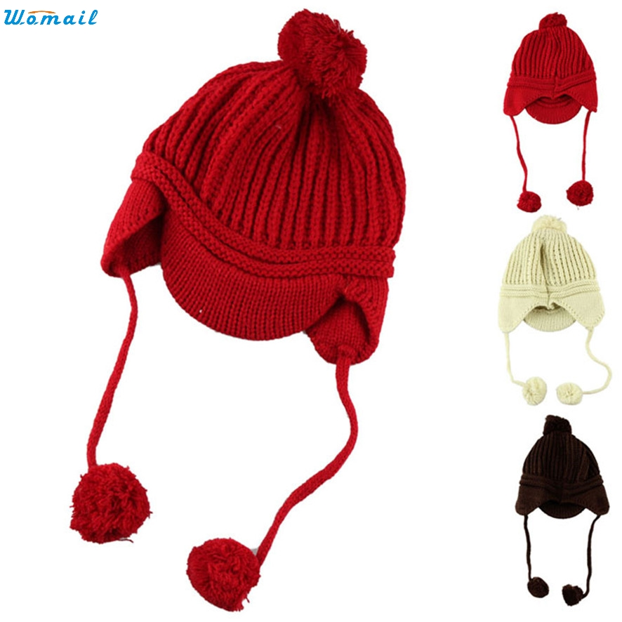 Hot Brand New Spring Children's Knitted Hats Boys Caps Baby Girls Hat Beanie Peaked Cap high quality black new for olm 080d0838 fpc zjx 5j 8 inch touch screen digitizer glass sensor replacement parts