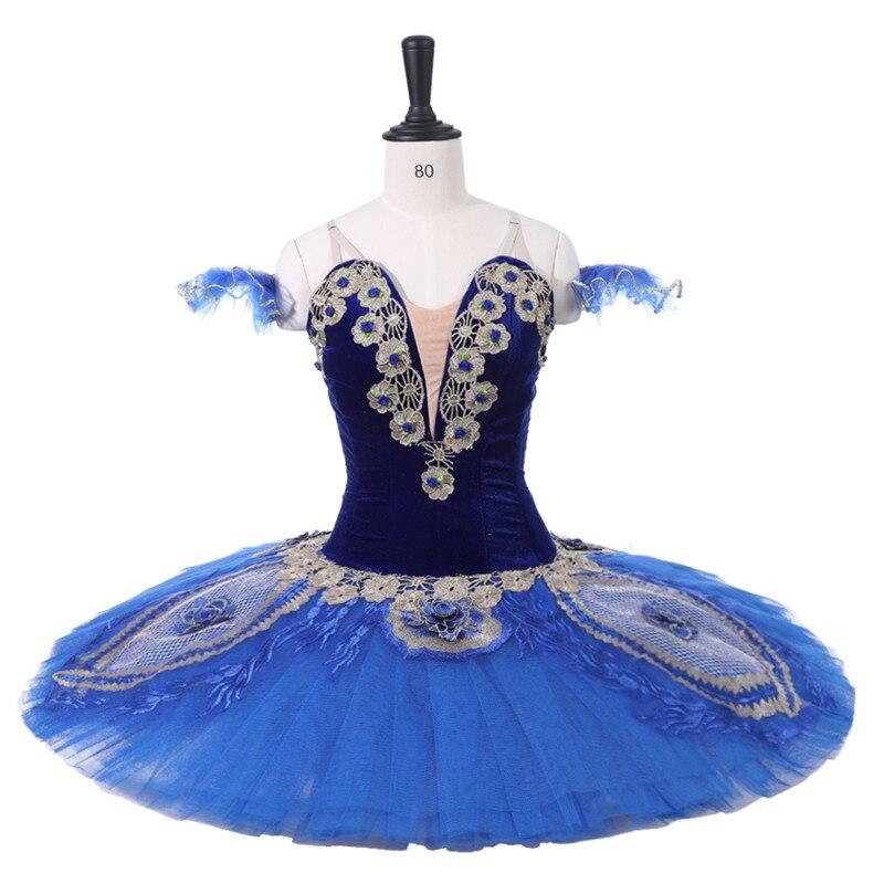 27ed8e24374f professional ballet tutus dress Coppelia Royal Blue Bird orsaire Raymonda  Princess Florina Classical Pancake Tutu Costume
