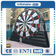 Free shipping 3m 4m 5m Giant board game Inflatable Foot Darts Inflatable Soccer dart board games