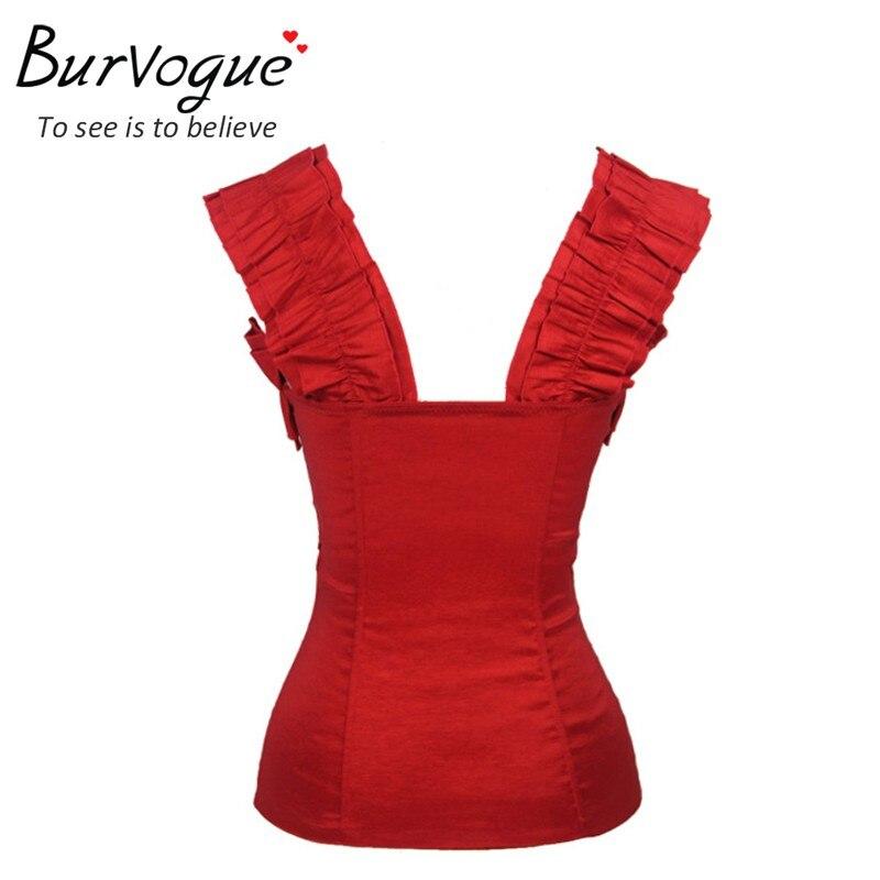 Burvogue мода женщины пуш-ап летние майки - Женская одежда - Фотография 2