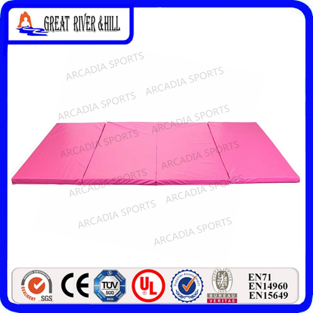 2.4mx1.2mx5cm Thick Folding Panel Gymnastics Mat Gym Fitness Exercise Mat gymnastics mat thick four folding panel fitness exercise 2 4mx1 2mx3cm