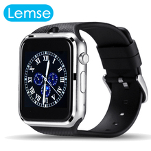 Smart Watch GD19 Bluetooth watch Clock Smartwatch sport Wristwatch For Apple iPhone Android Phone Camera PK