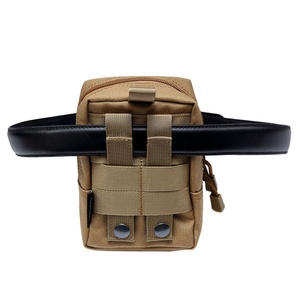 Image 4 - Outdoor EDC Bag Multi function Portable Military Tactical Pocket Durable Molle Tool Zipper Pockets Accessories