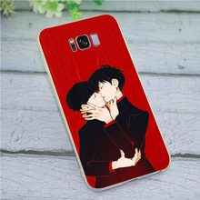 Soft TPU Phone Cover for Galaxy Samsung A8 Mob Psycho 100 Case A9 A3 A6 Plus A5 A7 A10 A20 A30 A40 A50 A70 Print(China)