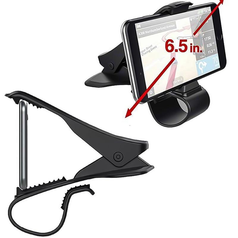 Universal Car Phone Holder Dashboard Mount Cradle Cellphone Clip GPS Bracket Holder Stand