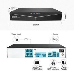 Image 2 - 4CH XPOE 2MP אבטחת מצלמה מערכת ערכת 4PCS 1080P Bullet IP מצלמה חיצוני עמיד למים מעקב וידאו NVR סט IP66 SANNCE