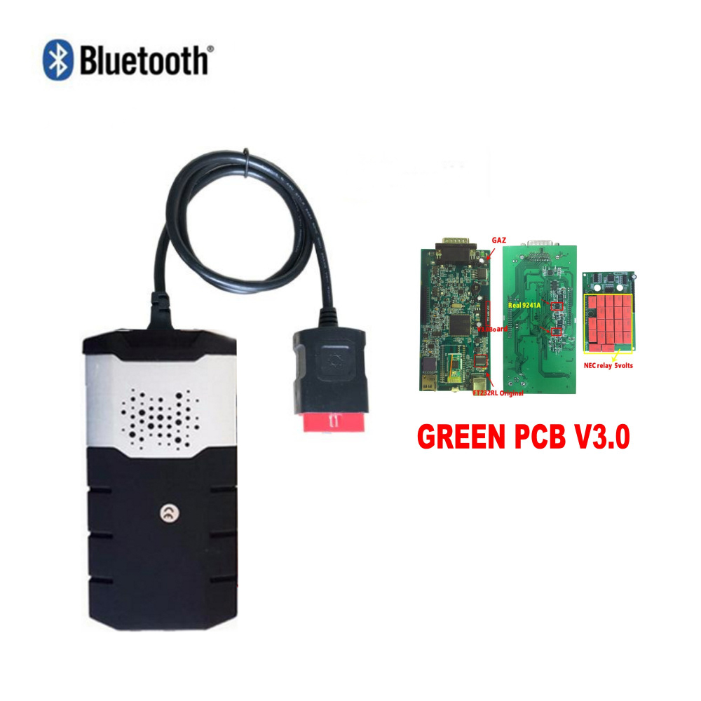 with 16R0 15R3 VD TCS CDP Pro Plus V3 0 PCB With Bluetooth for delphis VD