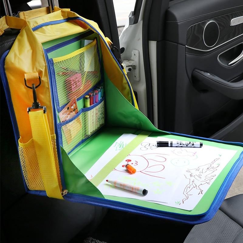 Kids backseat organizer car seat tray travel tray for kids