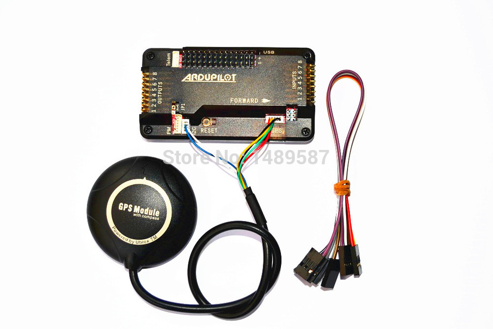 APM 2.8 Flight Controller W/  M8N 7M High Precision GPS Built In Compass W/ Stand Holder For AMP2.6/2.8 Pixhawk 2.4.8