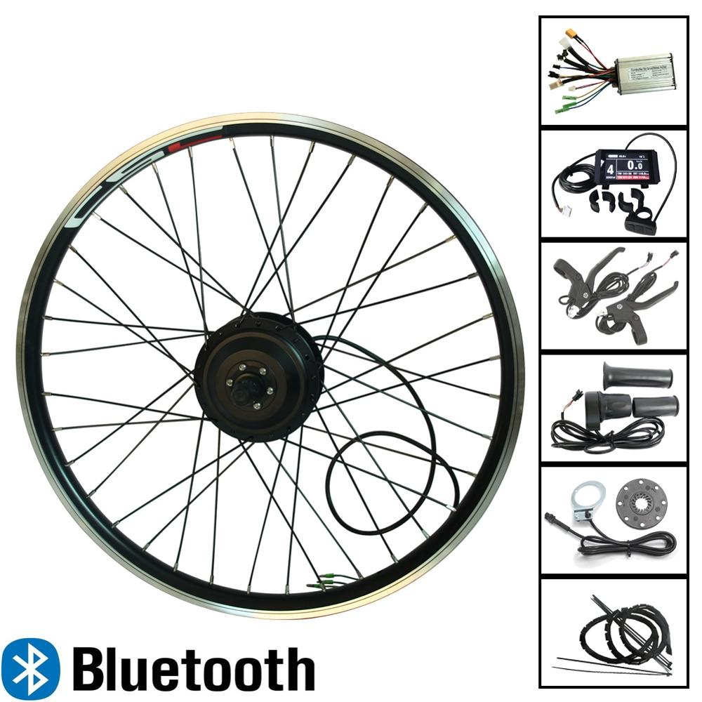 eBIKE 20 29 inch 700C Electric Bicycle Conversion Kit 36V 250W 350W 500W Bluetooth Front or