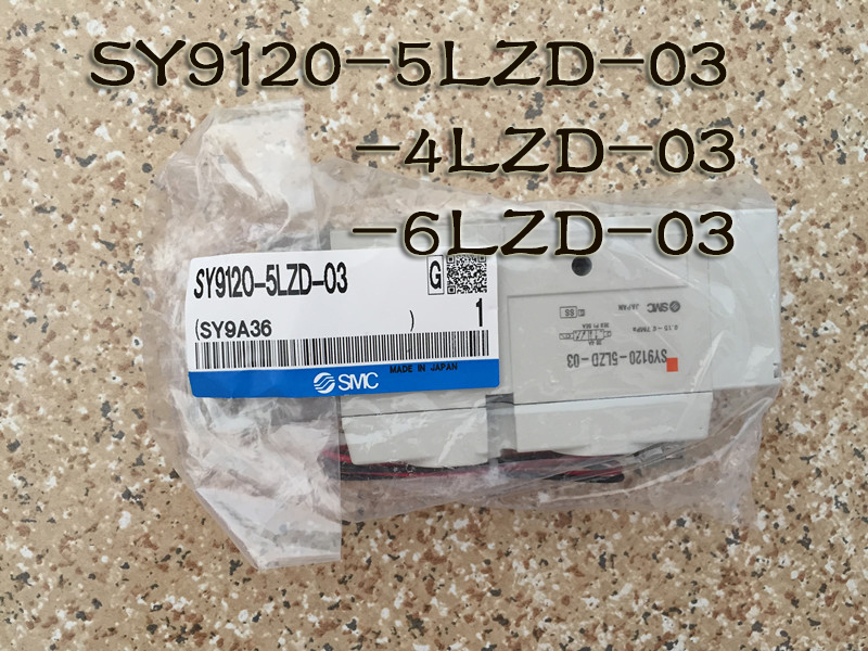 BRAND NEW JAPAN SMC GENUINE VALVE SY9120-4LZD-03 brand new japan smc genuine valve syj5120 5mzd c6