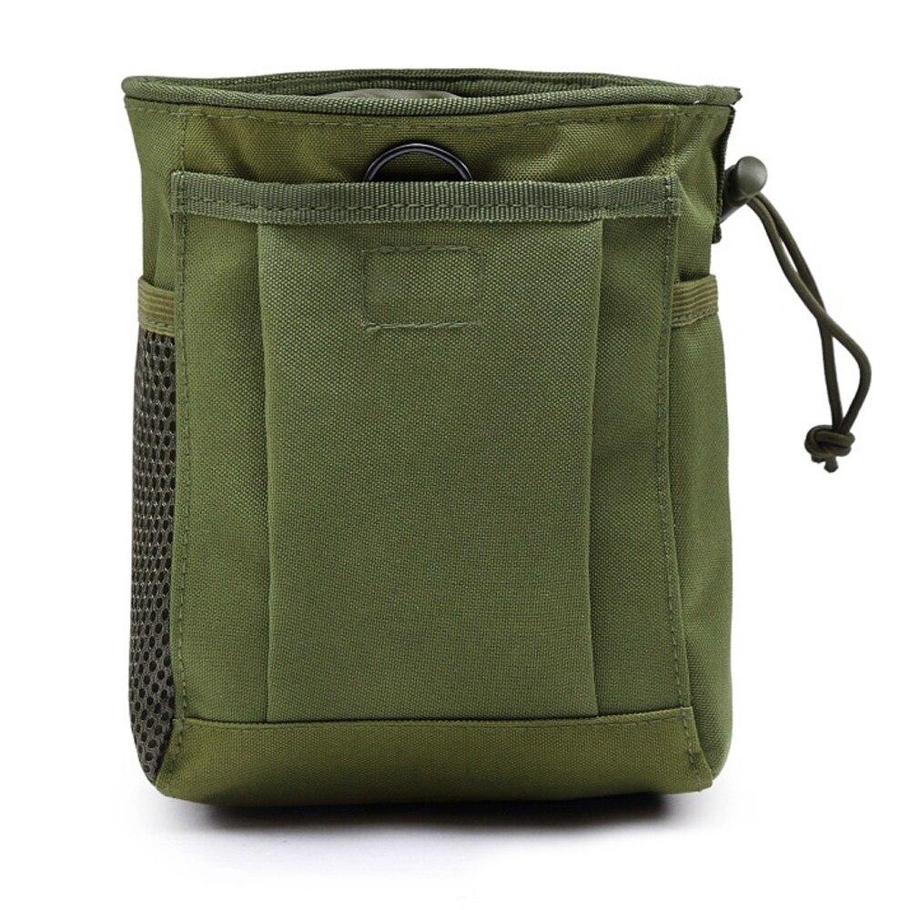 3 цвета Оксфорд ткань поясной мешок Охота Кемпинг Карманный страйкбол DIY мешок для патронов на открытом воздухе шнурок для талии Тактический - Цвет: Army green