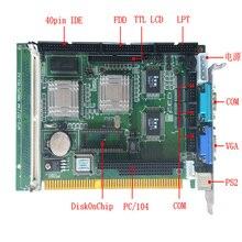 SBC 357/4 m é um tudo em um placa única placa do computador placa mãe com um painel plano a bordo