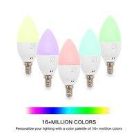 Wenhsin E14 Smart Candle Bulb 5W Smart Flame Lamp Wifi Smart Led Candle Light
