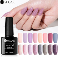 UR SUGAR 7.5ml Holographic Glitter Gel Nail Polish Shiny Glitters Sequins Lacquer Soak Off UV Varnish Nails Manicure LED