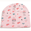 Print Baby Hat Cotton Cute Infant Caps Strawberry Beanies For Babies Spring Hat For Girls 2017 Lovely Boys Hats Baby Photo Props