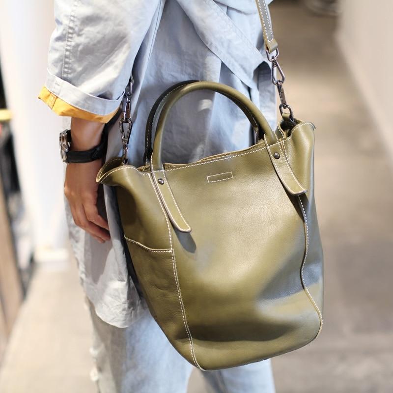 Soft Real Genuine Leather Tassel Women Handbag Elegant Ladies Hobo Shoulder Bag Messenger Purse Satchel White