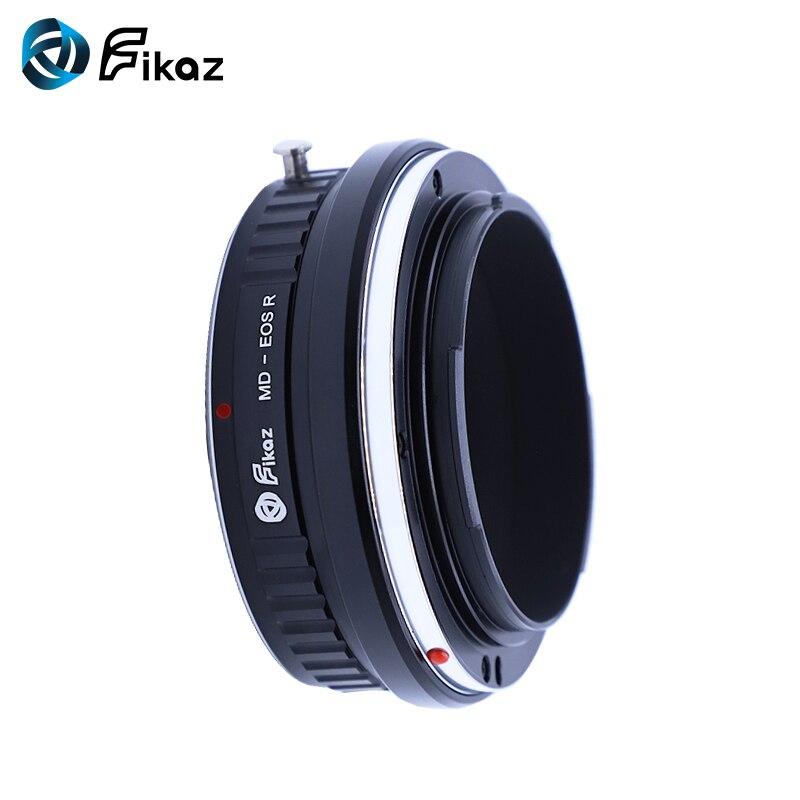 Fikaz pour MD-EOS R caméra adaptateur de montage d'objectif pour Minolta MD objectif à Canon EOS R RF caméra de montage - 2
