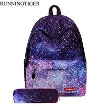 Runningtiger 2017 Рюкзаки Женские Полиэстер дорожные сумки школьников рюкзак женская Повседневная Большая емкость рюкзак Bolsas