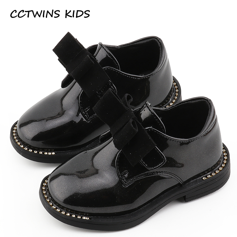 CCTWINS KIDS 2018 Spring Children Butterfly Slip On Baby Fashion Rhinestone Loafer Toddler Pu Leather Shoe Girl GL1936 adidas performance natweb i slip on shoe toddler