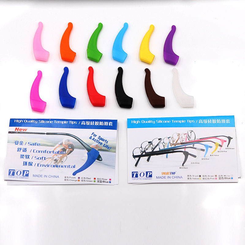 COLOUR-MAX Silicone Anti-slip Holder For Glasses Accessories Ear Hook