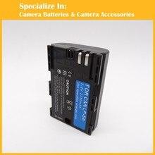 Eeyrnduy 1 шт. 7.2 В 2750 мАч LP-E6 Аккумулятор Камеры
