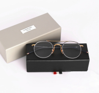 Thom Browne Optical Eyeglasses Half Frame Men Women Computer Myopia Eye Glasses Spectacle Frame Women S