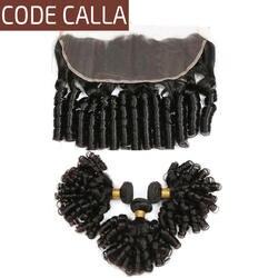 Код Калла сырье перуанский необработанные девственные человеческие волосы расширение 13*4 синтетический Frontal шнурка волос бесплатная часть