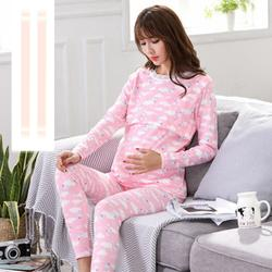 2019 Новый Для женщин женский топ для беременных мама одежда лестно Сторона Ruching с длинными рукавами овальным вырезом Футболка для