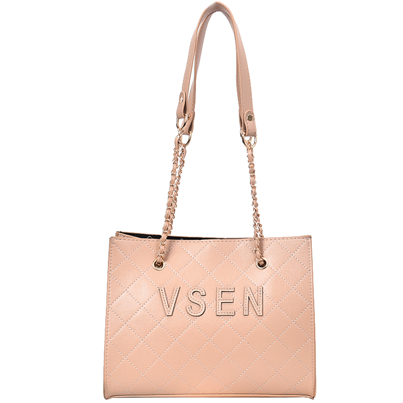 Free shipping, 2018 new fashion woman bag, trend Korean version handbags, simple diamond lattice women bag, leisure shoulder bag 6