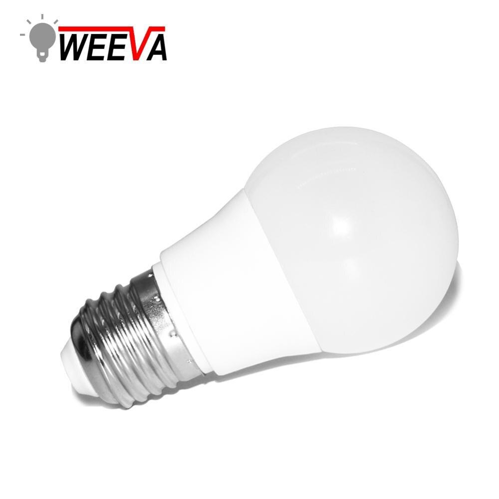 LED Globe Bulb E26 E27 18W 15W 12W 9W 7W 5W 3W White Lamp For Home Living ERM