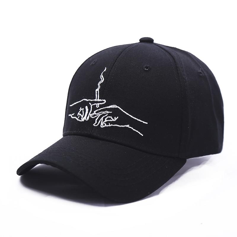 2017 Fumatul pentru broderie Brand Cap de baseball Snapback Caps - Accesorii pentru haine
