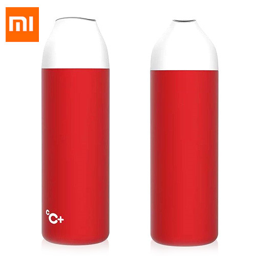 Xiaomi Kiss Kiss Fish CC Smart Bottle Stainless 525ml Multi- Function Water Bottle Measurable Temperature Display Vacuum ThermosXiaomi Kiss Kiss Fish CC Smart Bottle Stainless 525ml Multi- Function Water Bottle Measurable Temperature Display Vacuum Thermos