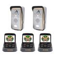 KIVOS KDB302A 2v3 Wireless Video Door Phone Doorbell Intercom With PIR Sensor Capture Picture Monitors Talk to Each Other